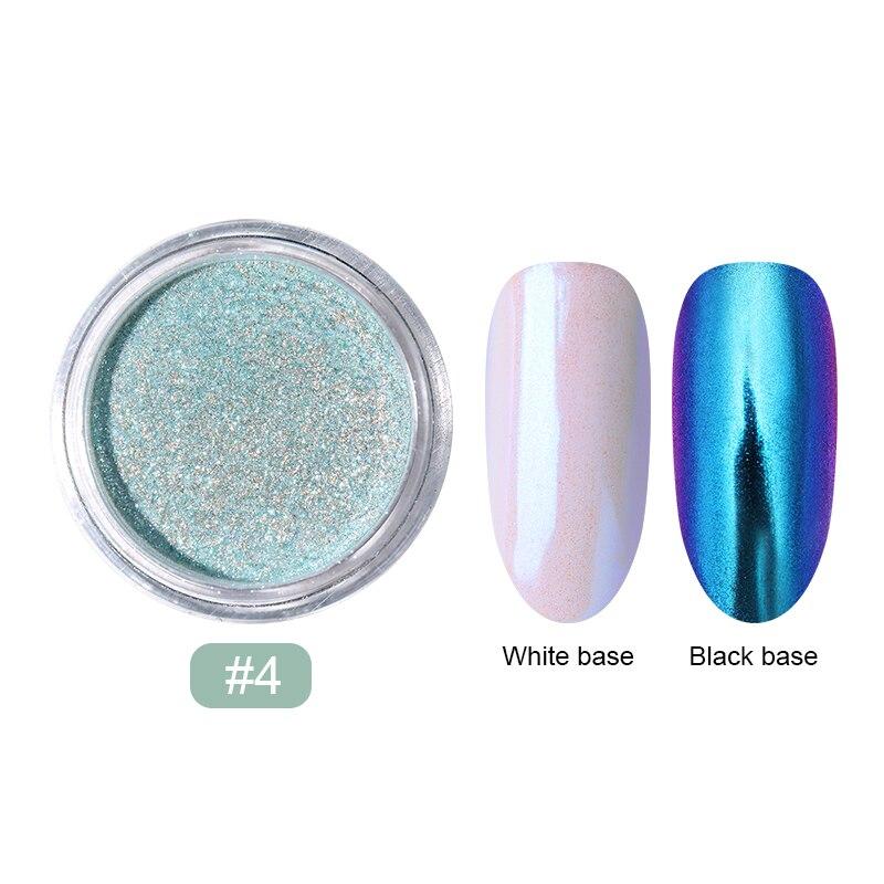 0,2 г/кор. зеркало-хамелеон, лазерные блестки для ногтей, порошки, эффект Auroras, дизайн ногтей, хромированный пигмент, пыль, сделай сам, дизайн, украшение - Цвет: 13