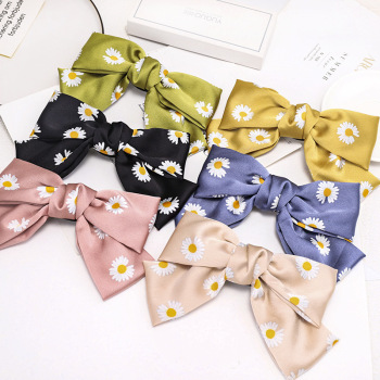 Big Bow Clip Accessories Hair Accessories cb5feb1b7314637725a2e7: Black|Blue|Champagne|Green|Pink|Yellow