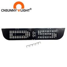 CNSUNNYLIGHT LED 추가 브레이크 스톱 라이트 패널 교체 미쓰비시 Delica D5 일본어 자동차 T10 W5W 전구 레드 DIY 브레이크 램프