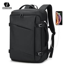 Fenruien 2021 New Men Backpack Waterproof 17 Inch Laptop Backpack Multifunction Business Travel Backpacks For Men Large Capacity