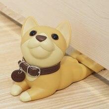 Дверной ограничитель для собак кошек мультяшный креативный силиконовый