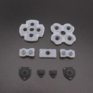 Image 3 - Almofadas de borracha condutoras lr, tindong, melhor qualidade, para jdm001, jdm010, jdm030, ps4, controle dualshock, 4 botões, borracha de contato