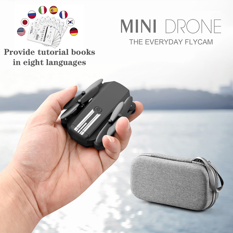 LS-MIN Mini RC Foldable Drone 4K 1080P 480P HD Camera  FPV WiFi Selfie Helicopter Profesional Drones RC Quadcopter Toys For Boys
