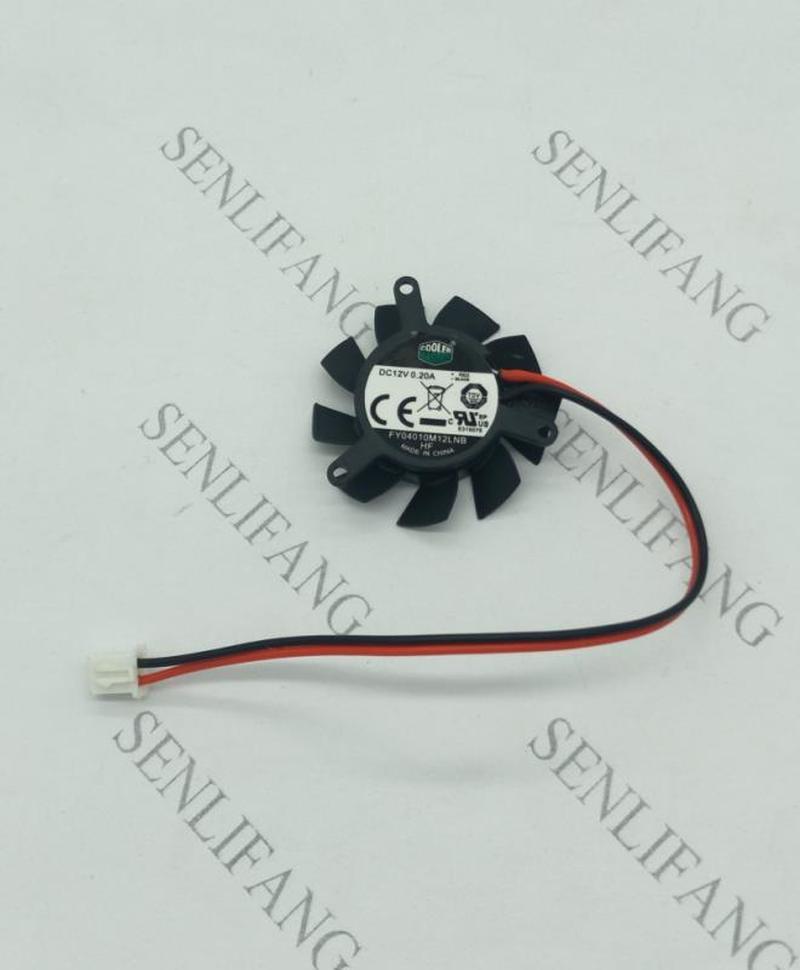 For CoolerMaster FY04010M12LNB DC 12V 0.20A 37x37mm Server Cooler Fan