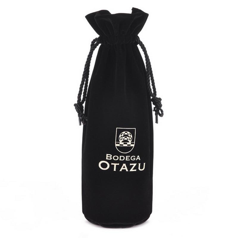 Custom Velvet Wine Bag Umbrella Coat Packaging Bag With Velvet 20*30CM
