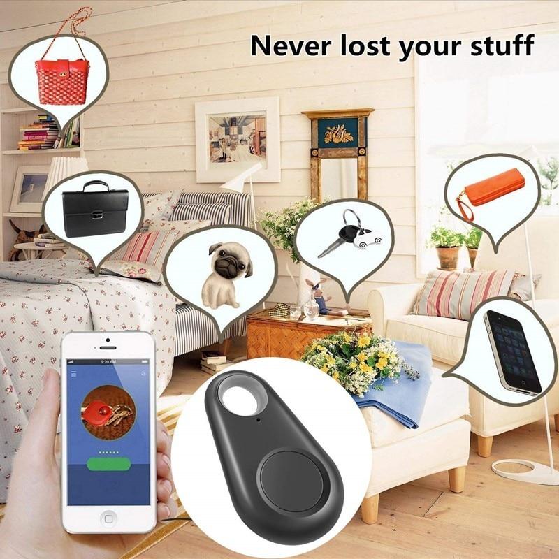 GPS Dog Tracker Pets Smart  Anti-lost Alarm Tag Wireless Bluetooth Tracker Child Bag Wallet Key Finder Locator Anti Lost Alarm