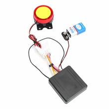 1PC Electrical Ignition Remote Control Engine Start 12V Anti-theft Security Alarm System Motorcycle Bike Parts