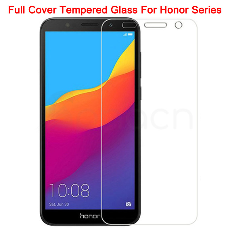9H Protective Glass On The For Honor 7A 7C 7S 7X Tempered Screen Protector Glass Honor 8 Lite 9X 8X 8A 8C 8S Clear Glass Film