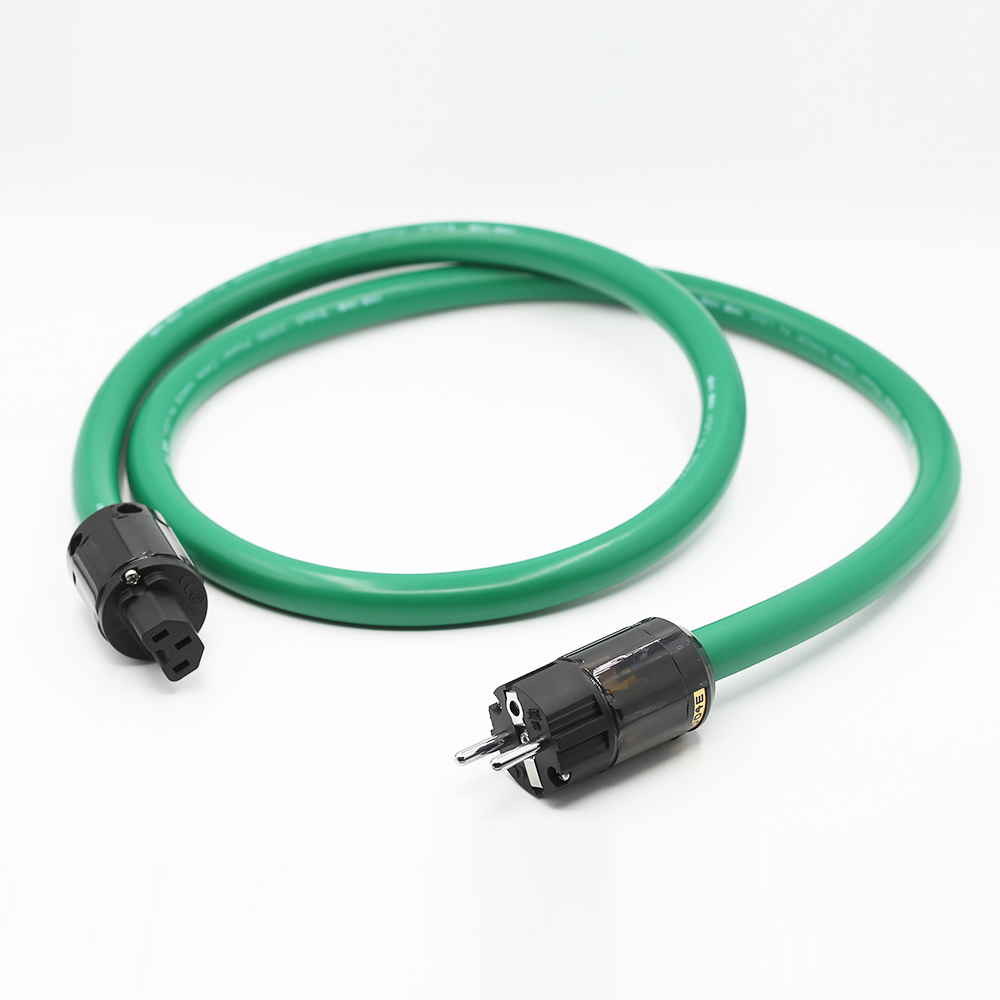 Free shipping <font><b>Mcintosh</b></font> <font><b>2328</b></font> power line HIFI POWER CABLE Power Cord with EU Plug AC cable line hifi image