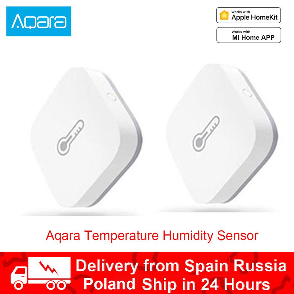 Original Aqara Smart Air Pressure Temperature Humidity Environment Sensor Work With Android IOS For Xiaomi Mijia APP Control