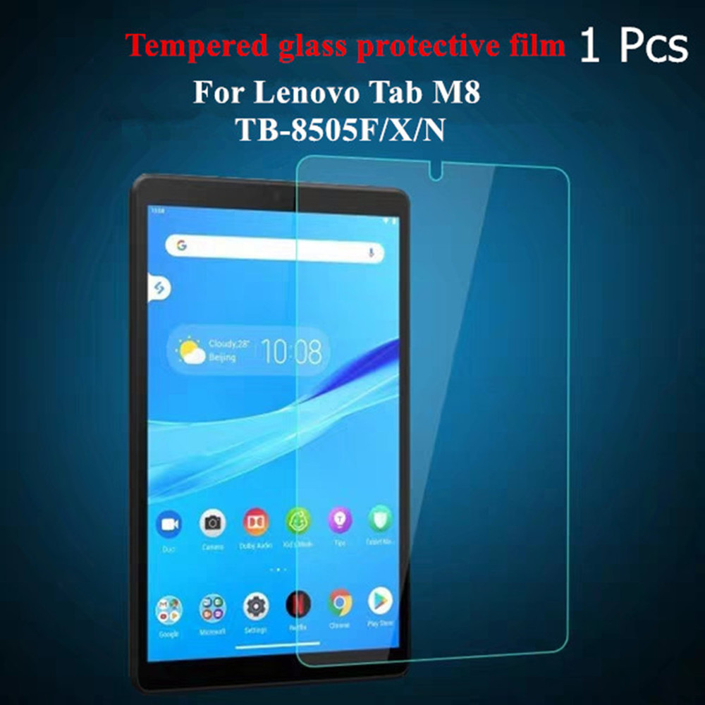 Tempered Glass Screen Protector For Lenovo Tab M7 TB-7305 M8 HD/FHD TB-8505 M10 TB-X605 9H 2.5D Tablet Safety Protective Film