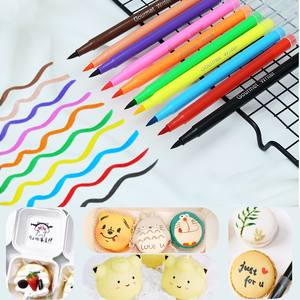 Cake DIY Cake-Painting-Accessories Edible-Pigment-Pen Cake-Decoration Drawing-Biscuits