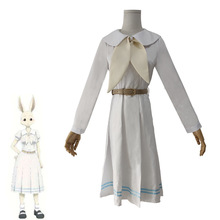 HISTOYE The Comic Cartoon BEASTARS Costume Japanese Rabbit Cosplay Clothing for Women Halloween Party