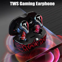 8D Stereo TWS Wireless Headphones Gaming Earphones Bluetooth V5.1 Low Latency Game Headsets Music sport Earbuds with Mic