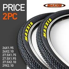Uds MAXXIS 26 neumático de bicicleta * 26*2,1*27,5*1,95 60TPI MTB bicicleta de montaña neumáticos * 26*1,95*27,5*2,1 29*2,1 neumático de bicicleta o tubo interior
