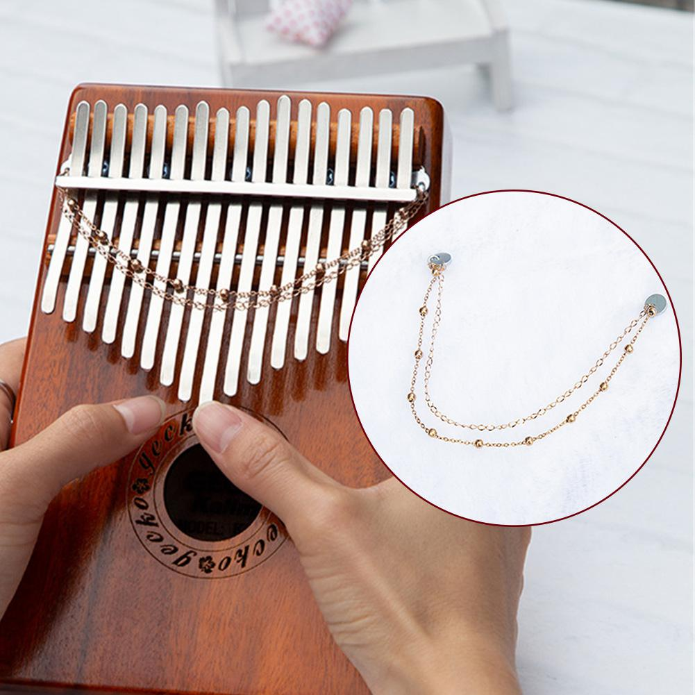 Tremolo Chain For Kalimba Piano Chain Sand Chain For Finger Piano Thumb Piano Sound Performance Improve Musical Chain Instrument