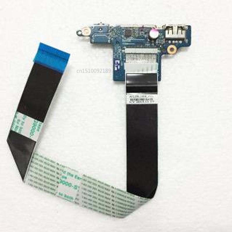 Original For Lenovo IdeaPad Z510 USB Card Reader Audio Board With Cable AILZA NS-A182 Free Shipping