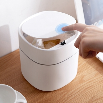 Mini Small Waste Bin Desktop Garbage Basket Home Table Plastic Office Supplies Trash Can Dustbin Sundries Barrel Box office kitchen hanging garbage storage bucket rubbish box plastic trash can wall mounted waste trash bin mini desktop dustbin
