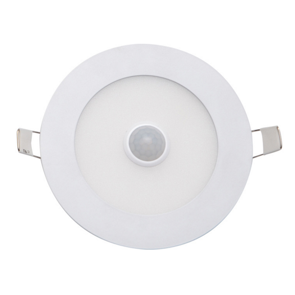 LED Ceiling Light 6W 9W 12W 15W 18W 20W 24W PIR Motion Sensor Ultra-thin LED Panel Downlight Recessed Daylight Lampara Techo