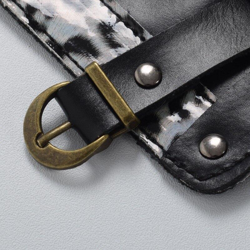 Для взрослых мужчин средневековый воин Larp Рыцари нарукавник с пряжкой стимпанк Archer рукавица Косплей Костюм