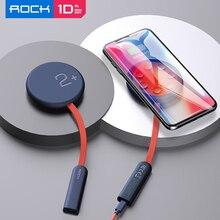 ROCHE Double Face Sans Fil Chargeur Ventouse Recharge Rapide Sans Fil 15W Chargeur Qi pour iPhone 12 Pro pour Huawei 무선충전패드