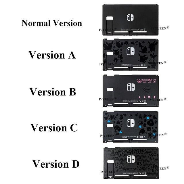 IVYUEEN carcasa de repuesto para consola Nintendo Switch, carcasa frontal y trasera para Nintendo Switch