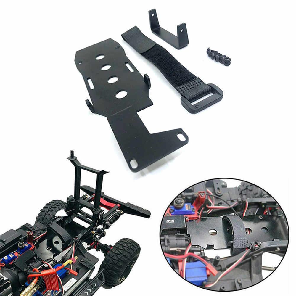 1xAluminum Metal Low LCG Battery Tray Set for Traxxas TRX-4 TRX4 RC Crawler Car