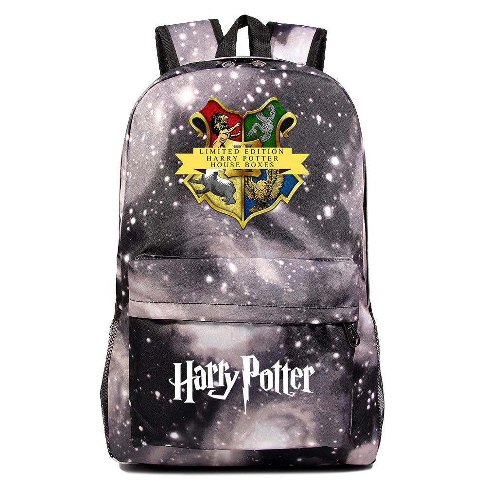 Cartoon Foreign Trade Hot Sales Related Products Anime Harry Potter Teenager Schoolbag Men And Women Casual Backpack