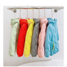 Baby girls boys coats children outerwear winter hooded jackets