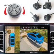 60 Soorten Auto Model, 3D 360 Camera Svm Surround View 4 Manier Dvr Met Parking Verdediging Video-opname, Met Knop Jog Remote