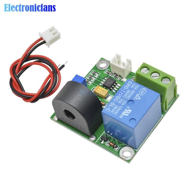 DC 12V AC 0-5A Current Detection Sensor Module Switch Output Test Line