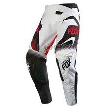 Gorąca sprzedaż 360 Motocross męski dla motocyklisty wyścigi spodnie motocykl ATV rower zjazdowy Offroad białe czarne spodnie