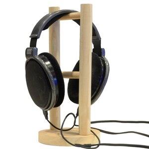 Image 2 - Vococal Wooden Headphone Stand Universal Headset Holder Earphone Display Rack Hanger for Bose Beats Sony Philips JVC Gaming DJ