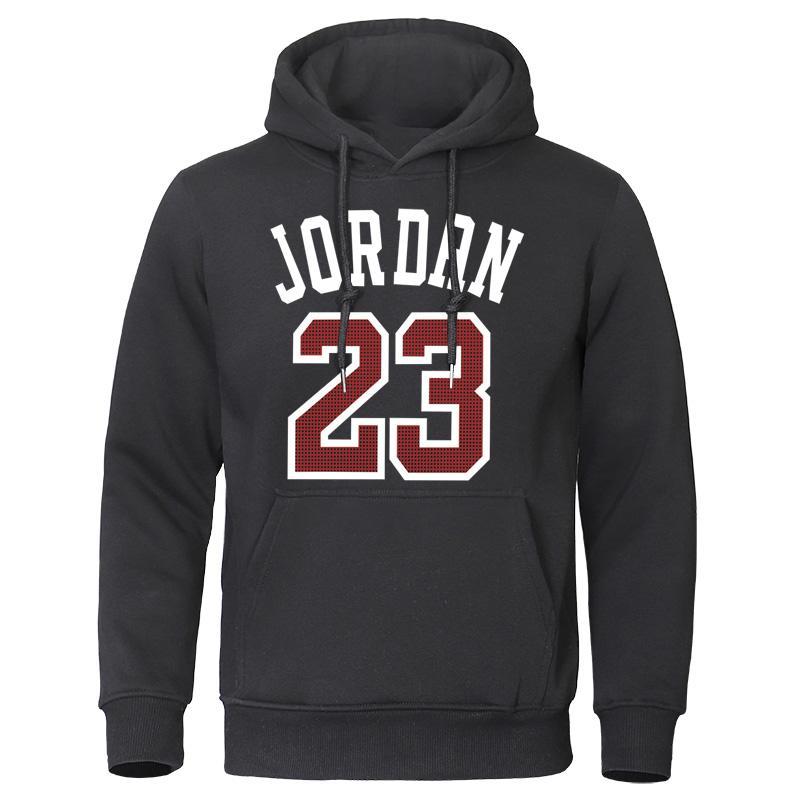 2019 herbst Winter Mnner Hoodies Jordan 23 Gedruckt Mnnlichen Sweatshirts Modus Warme Streetwear Mann Qualitt Herren Pullover
