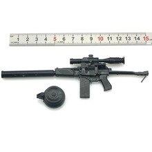 Gun Model Assemble Action-Figure Puzzles Military-Weapon 1/6-Scale Building-Brick Sand