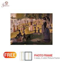 Diamond Embroidery Sunday Afternoon on the Island of La Grande Jatte5D DIY Painting Cross Stitch Full Rhinestone Art