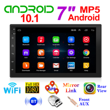 GPS Navigation Video-Player Head-Unit Multimedia Car-Radio Bluetooth 7inch-Screen Android 10.1