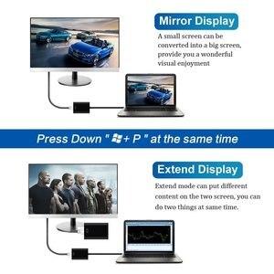Image 5 - USB 3.0 do wejście HDMI konwerter kabel Adapter USB do HD zewnętrzna karta graficzna wielu Adapter monitora dla Windows 7/8/10 laptopa