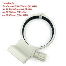 """1/4 """"Metal Tripod Collar Anello di Supporto a (W) per Canon Ef 70 200 Mm F/4L Is Usm Lens 70 200 F4 per Ef 300mm F/4L Usm 400 Millimetri F/5.6L Usm"""