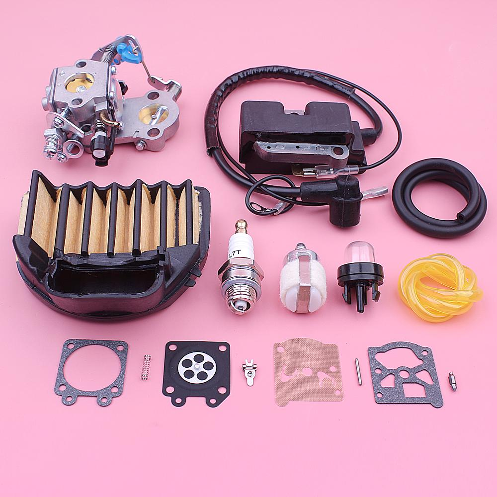 Repair Ignition 544227401 455 Chainsaw Kit 544047202 Fuel CS2255 Air Jonsered Filter Rancher 460 Coil Carburetor Husqvarna For