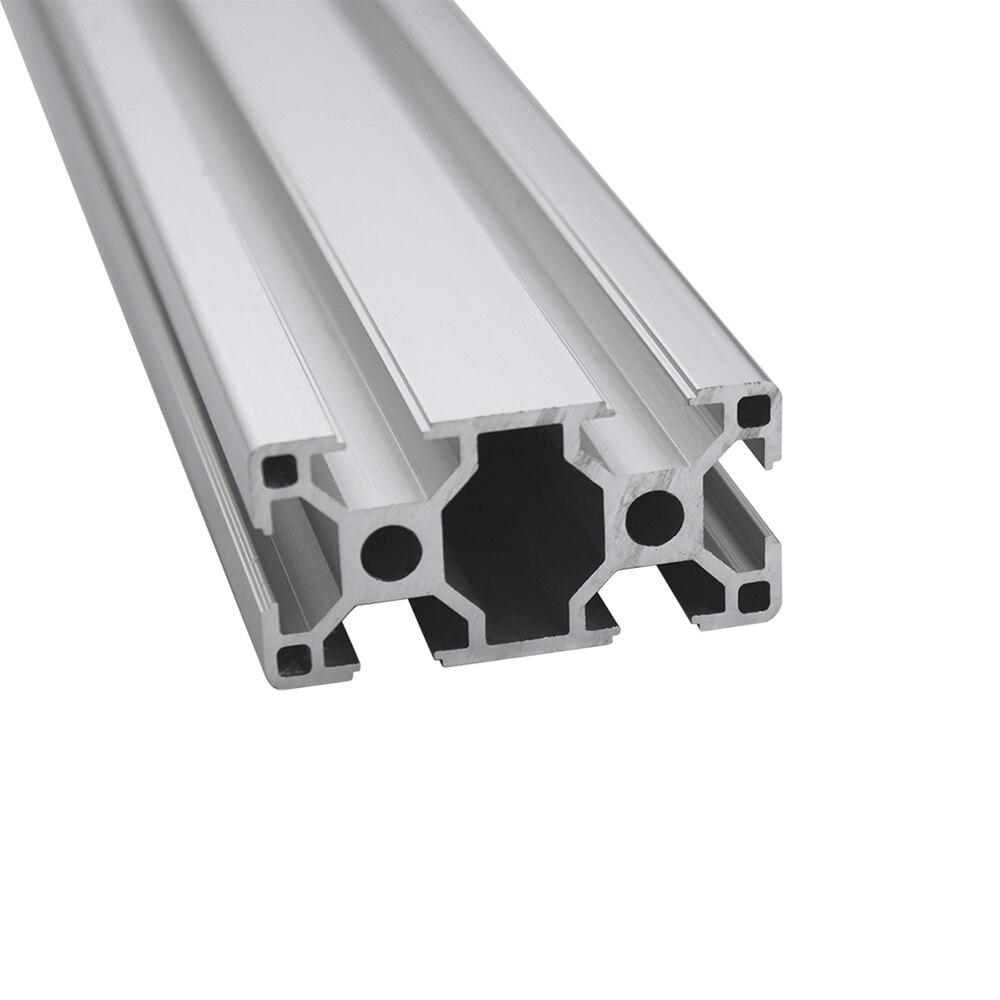 3060 экструзионный алюминиевый профиль длина 100 1200 мм Европейская