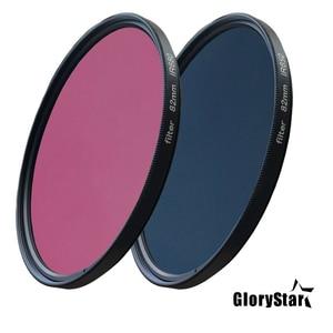 Image 3 - GloryStar 52 82mm Ir680 Ir720 Ir760 Ir850 Ir950 Infrared Infra red Ir Filter 720nm Fun Artistic Photography Camera Lens Filter