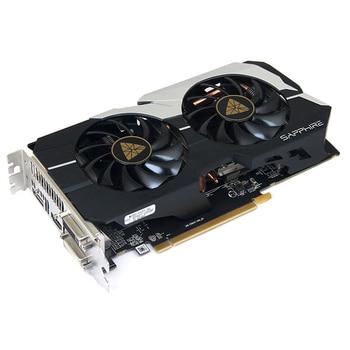 SAPPHIRE R7 260X 2GB Video Cards GPU AMD Radeon R7260X 2G GDDR5 Graphics Cards Computer Game Map Cards GTX 750ti 750 1