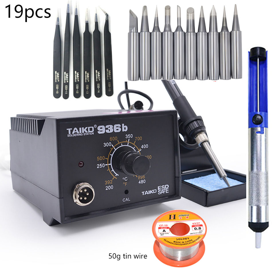 Anti-static Temperature Soldering Station 937d 936 High-Quality Constant Strong-Power  Electric Iron Replacement Repair Tool