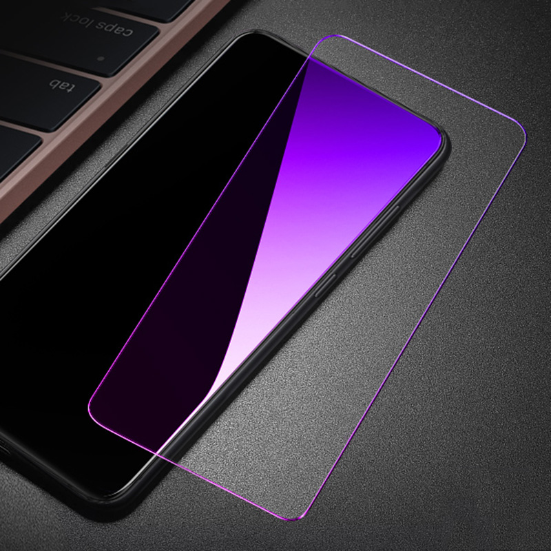 OriWood Full Cover Anti Blue Tempered Glass For Samsung Galaxy A10 A20 A30 A40 A50 A60