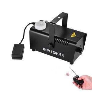 Image 1 - Machine à fumée 400W/Mini Machine de désinfection datomisation à télécommande sans fil/éjecteur de fumée détape/brumisateur détape de Disco de DJ