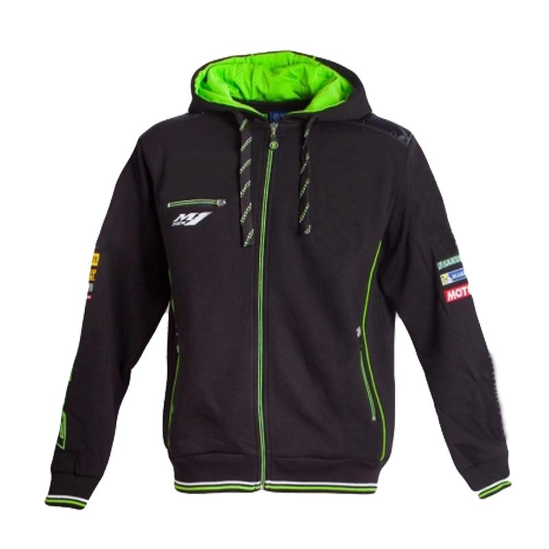 Free Shipping 2019 Tech 3 Moto Gp Racing Motorcycle Zip Sweatshirt  For Yamaha M1 Team Hoodie Motorbike  Jacket