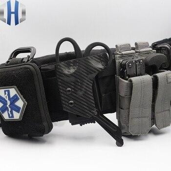 EMT Scissors Quick Pull Sheath Tactical Scissors Cover Scissors Bag K Sheath Can Be Customized фото
