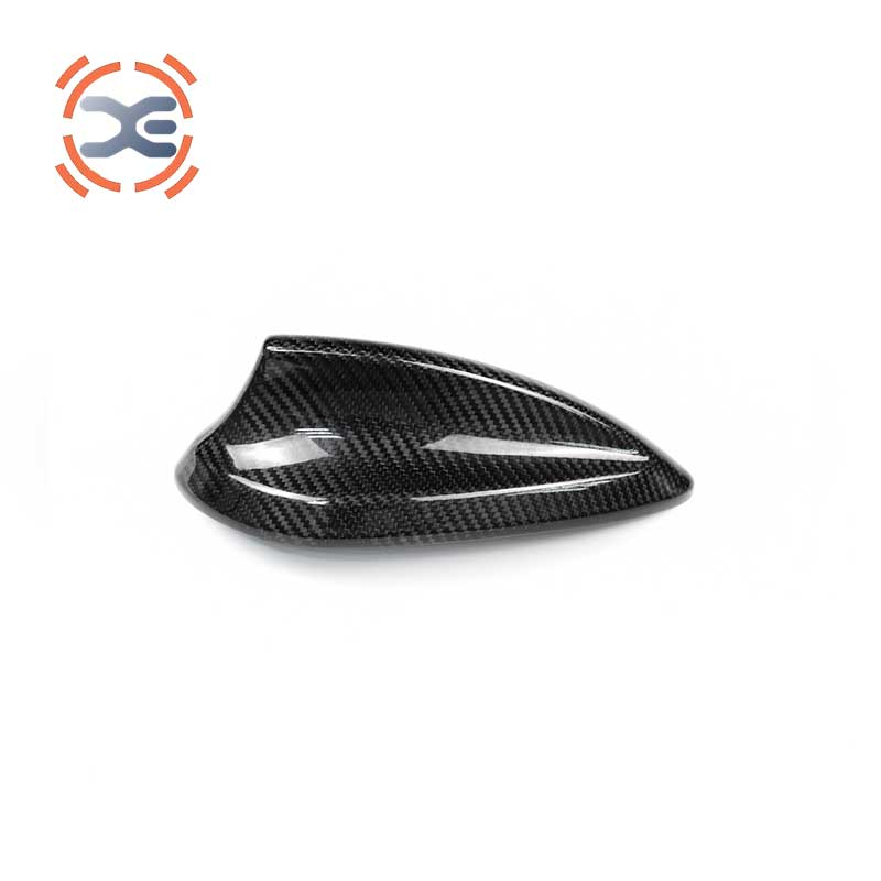 FOR <font><b>BMW</b></font> <font><b>F22</b></font> F30 F34 F33 M2 F87 M3 F80 M4 G38 G11 G12 Car Interior Accessories Carbon Fiber Antenna cover Interior <font><b>Stickers</b></font>. image