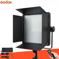 Godox LED1000C Studio Video Light Lamp for Camera Camcorder Wireless Remote Changeable Version 3300K 5600K